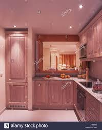 modern spanish kitchen recessed lighting in modern spanish kitchen with a hatch and
