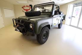defender land rover for sale 1986 land rover defender 110 military stock 17030 for sale near