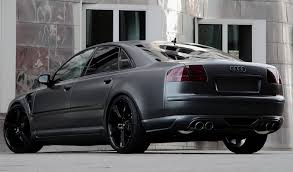 audi s8 matte black black suite plus audi wheels