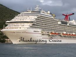thanksgiving cruise aboard the carnival magic