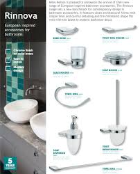 Bathroom Accessories Online Rinnova European Inspired Bathroom Accessories Order Online