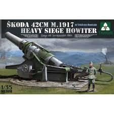 skoda 30 5cm m1916 siege howitzer maquette char promo