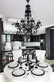 Black Chandelier Dining Room 30 Refined Glam Chandeliers To Make Any Space Chic Digsdigs