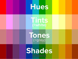 color shades of grey the basics of the color wheel for presentation design