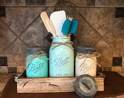 kitchen canister set etsy