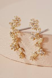 wisteria climber earrings anthropologie