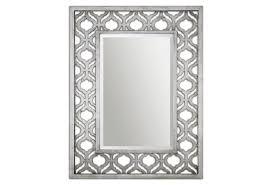 simple ideas silver wall mirror stunning temptation rectangular