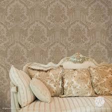 Stencils For Home Decor 223 Best Damask Wall Stencils Images On Pinterest Wall