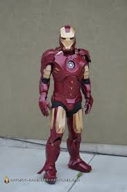 ironman halloween costume coolest homemade iron man costumes