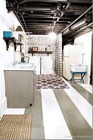 Easy Basement Ceiling Ideas by Best 10 Low Ceiling Basement Ideas On Pinterest Small Basement