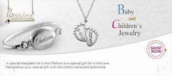 personalized children s jewelry mothers jewelry gifts for personalized jewelry baby gifts