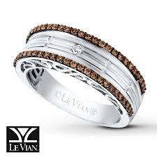 kay jewelers chocolate diamonds levian chocolate diamonds 1 2 ct tw men u0027s band in 14k vanilla