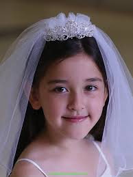 communion veil accessories wear veil adorable rhinestone tiara