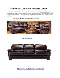 Leather Sofa Direct Custom Leather Sofas Leather Furniture Direct