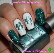 nail art stamping mania st patric u0027s day manicure with uberchic