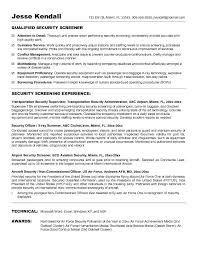 Career Change Resume Examples by Best Security Guard Resume Sample 2016 Resume Samples 2017
