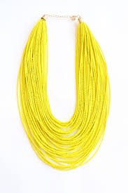 best 25 yellow statement necklaces ideas on pinterest fashion