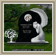 headstone maker marvelous flat headstones with vase christian memorial service