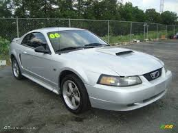 2000 ford mustang colors 2000 silver metallic ford mustang gt coupe 11327320 photo 3