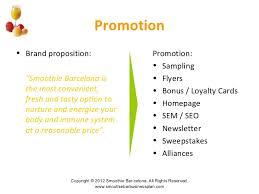 free sample juice bar business plan