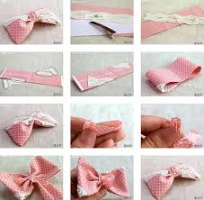 how to make hair bow how to make your own lovely pink fabric hair bow step by step diy