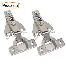 cabinet hinge probrico 4 pair soft close concealed kitchen