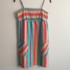 59 off soda blue dresses u0026 skirts striped sun dress from