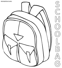 bag coloring pages coloring pages to download and print