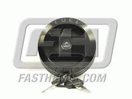 dodge challenger fuel billet aluminum locking fuel cap black dodge
