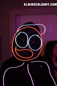 Halloween Stick Person Costume El Wire Photos Glowculture