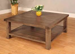 Rustic Square Coffee Table With Storage Furniture Fascinating Wood Square Coffee Table Designs High
