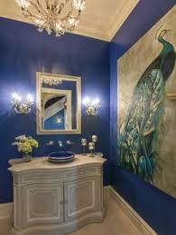 peacock bathroom ideas lovely wall in this powder room designs bathroom