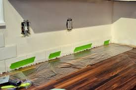 how to protect butcher block counters during projects u2022 ugly