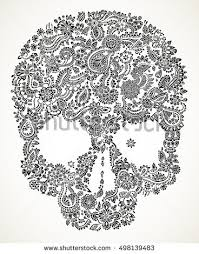 Day Of The Dead White Day Of The Dead Skulls Stock Images Royalty Free Images U0026 Vectors