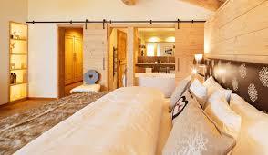 Schlafzimmer Chalet Chic Hotel Piz Buin Zimmer Klosters