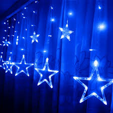 Outdoor Christmas Decorations Uk Sales by Aliexpress Com Buy 110v 240v Led Star Lights Home Outdoor