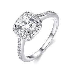 white gold wedding rings for women eternity women s pretty 18k white gold plated