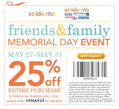 stride rite black friday stride rite 25 coupon and review