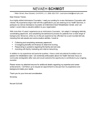 download sample cover letter for counselor haadyaooverbayresort com