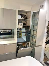 scavolini tess modern grey u0026 blue kitchen with white silestone