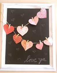 valentines decoration ideas very simple cheap decor idea to bri g the heart idea inside i