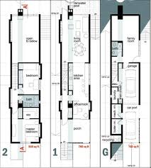 narrow homes floor plans exciting house floor plans for narrow lots gallery ideas house