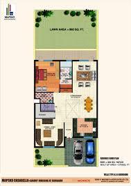 Casa Bella Floor Plan mapsko casa bella mapsko builders sector 82 nh 8 gurgaon floor