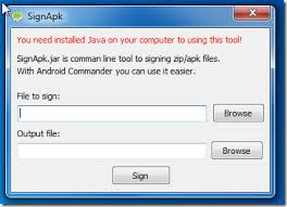 sign apk android commander is a swiss army knife for android devices