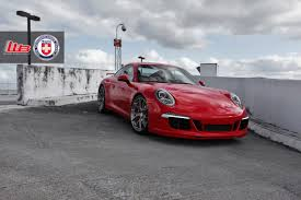porsche dark red porsche 991 with hre p101 in brushed dark clear hre performance