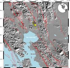 Fault Line Map Earthquakes Without Frontiers New Satellite Maps Out Napa Valley