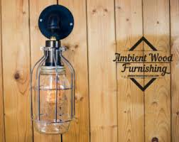 Edison Wall Sconce Edison Bulb Sconce Etsy