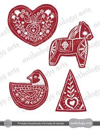 printable ornaments scandinavian style ovv907wo