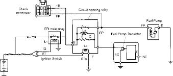fuel pump controls toyota engine control systems