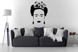 frida kahlo wall decal frida kahlo art home decor wall
